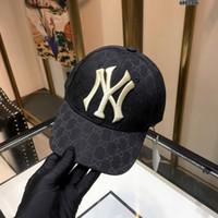 stickerei high-end-mode großhandel-2019 Baseball Cap High-End benutzerdefinierte Import Stickerei gut funktionieren. Komplette Persönlichkeit, Mode Wildgold Stickerei