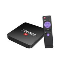Wholesale smart tv vs android box resale online - X10 mini Android TV Box Quad Core GB GB RK3328A G Wifi Smart Media Steaming Player VS R69 mxq pro