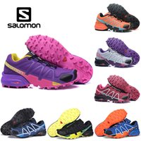 Wholesale genuine leather women shoes drop shipping online - Salomon Speedcross CS Athletic Outdoor Hiking Shoes Mens Women Speed Cross Running Sports Sneakers Drop Ship
