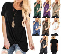 Wholesale sports t shirts purple online - Womens Short Sleeves Designer Womens Casual T Shirt New Fashion Womens T Shirt Casual Sports Short Sleeve