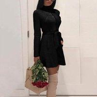 ingrosso donna trincea calda-Moda Donna Slim Inverno Autunno Caldo Trench Cappotto Cerniera Lunga Capispalla Donna Casual Tasche con frange Trench Autunno lungo Donna