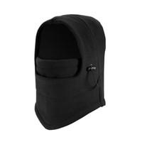 gesichtsmaske schädel fleece großhandel-Winter warme Fleece Beanies Hüte für Männer Schädel Bandana Nackenwärmer Sturmhaube Gesichtsmaske Wargame Special Forces Mask