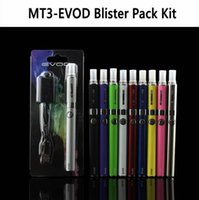evod cigs eletrônicos venda por atacado-Eletrônicos caseiros Kits de cigarros eletrônicos E-cigarro Detalhe do produto EVOD MT3 Blister kit único kits eGo kits de arranque e cigs cigare