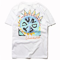 8e14a5cff hand painting man t shirt Canada - Undefeated Hand Painted T Shirt Fashion  High Quality Designer