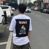 ingrosso camicie a maglia leggera-19SS PALA Life Light console di gioco t-shirt uomo donna moda casual hip hop maniche corte estate strada traspirante tee di skateboard HFYMTX443