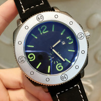 Wholesale sports watches for sale for sale - Group buy Luxury Man Leather Watches With Date Big dial Dress Watch Classic Quartz Watch black color Sport Wristwatches relojes for male Hot sale