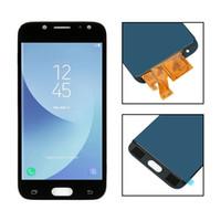 touchscreen lcd-display-modul großhandel-Für samsung galaxy j5 2017 j530 lcd j530f j530fm lcd display modul + touchscreen digitizer sensor assembly