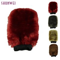 Wholesale car pretty for sale - Group buy pretty Multi function Wool Washing Paws Car Wash Gloves Car Wash GlovesCleaning Gloves Supplies