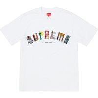 marka tasarımcısı tişörtleri toptan satış-Supreman gömlek Şehir Arc Tee Kutusu log0 Marka T-Shirt Üst Erkek tişörtleri Erkekler kısa kollu Gömlek Tasarımcı t gömlek Tee moda T-shirt sıcak satış