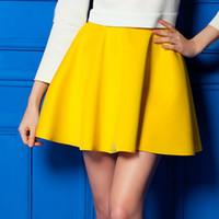 Wholesale korean ladies denim for sale - Group buy Summer Korean Pleated Skirt Sexy Skirt For Girls Lady Short Skater Women Mini Skirt Bottoms Candy Colors Plus Styles