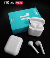 par de auriculares bluetooth al por mayor-i10xs TWS Bluetooth 5.0 Auricular Gemelos de doble oreja Hablando auricular con emparejamiento automático para Android Iphone Auriculares i10 i11 i12 tws
