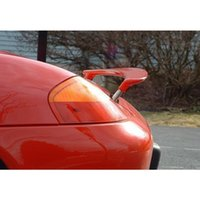 For Porsche 1997-2004 Boxster 986 Retractable Rear Spoiler Trunk Wing Fiberglass Unpainted