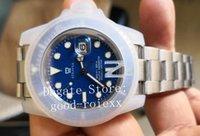 mavi dalış toptan satış-Üst V5 Sürüm Erkek Otomatik 2813 İzle Erkekler Siyah Mavi Yeşil Seramik Glidelock Toka 116610 LN Saatler Dalış N Spor Fabrika Saatı