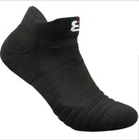 chaussettes de sport basses achat en gros de-Profetional gros Courir Vêtements d'Homme Serviette de bain Sport Outdoor Low Cut Marchepied Performance athlétique chaussettes en coton cheville