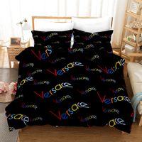Wholesale designer king size bedding sets resale online - Designer fashion Bedding sets king or Queen size bedding sets bed sheets comforter bed comforters sets styles