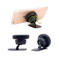 verkaufs-armaturenbrett großhandel-Stehen Sie magnetische Auto-Telefon-Halter-Armaturenbrett-Berg-Magnet-Telefon-Unterstützung mit Kleber für Universalhandy-heißen Verkauf