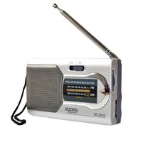 Wholesale Cheap Battery Powered Ourtdoor Portable AM FM Telescopic Antenna Radio Pocket Stereo Receiver AM FM for the elderly