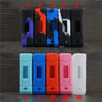 modos de caixa de tc para venda por atacado-VOOPOO DRAG 2 Casos de Silicone Tampa Da Pele de Silicone Saco De Manga De Borracha Gabinete Capas Protetoras Para VOOPOO DRAG2 177 W TC Box Mod Kit DHL
