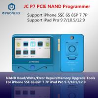 ipad iphone repair toptan satış-PHONEFIX JC Pro1000S JC P7 NAND Programcı PCIE NAND SN Okuma Yazma Onarım Aracı iphone 5SE 6 S 6SP 7 7 P iPad Pro Hata Kaldır