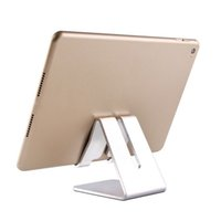Wholesale stands for tablets for sale - Group buy Universal Aluminum Metal Mobile Phone Tablet Holder Desk Stand for iPhone Plus Samsung s8 plus ZTE Max XL with Retail package