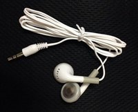 Wholesale phone 3g mp4 resale online - In Ear Earbuds Earphone Headphones for Phone g for MP3 MP4 mm Audio Free DHL FEDEX