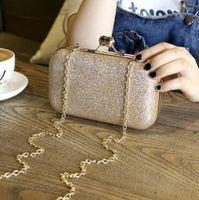 ingrosso nuove borsette smerigliate-Nuovo modello donne di marca borsa da sera glassato a mano 19045 pochette borse da donna borse da sposa banchetto festa femminile colori argento