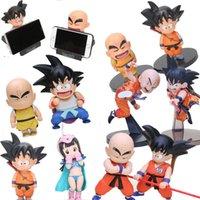 Dragon Ball Z Phone Holder Son Goku Krillin Kuririn Childhood Bobble Head