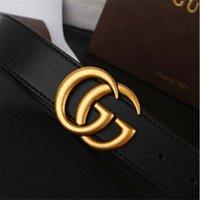 g ceinture blanche achat en gros de-La nouvelle tendance de la mode G lettre bouton dame bouton lisse or ceinture blanche longue 105-125cm fabricants directement marque Ceinture boucle G ceinture.