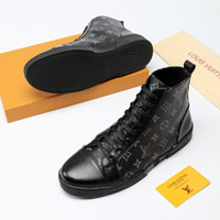 e5ff83358c6367 Discount thanksgiving plus size tops - Fashion High Top Men Shoes Leather  Mens Ankle Boots Casual
