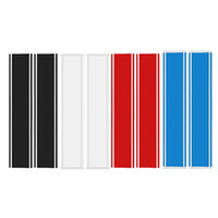 Wholesale auto body graphic stickers for sale - Group buy Car Truck Universal Front Hood Racing Rally Stripes Auto Graphic Decal Vinyl Sticker Body Decal Racing Stripes Tailgate