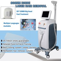 Wholesale machining operations for sale - Group buy Easy operation diode Laser fast hair removal machine nm beauty hair laser machines for sale no burns no pain face body removal