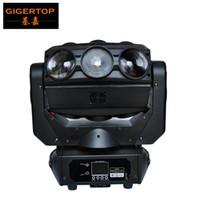 голова паука оптовых-TIPTOP TP-L676 9 х 12W LED паук Moving Head Light RGBW 4IN1 DMX 512 Этап освещение диско Backdrop луча освещения Линейный диммер
