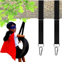 Wholesale easy swing for sale - Group buy Tree Swing Hanging Straps Kit with Safer Lock Snap Carabiner Hooks Tree Swing Hammocks Perfect for Swings Carry Pouch Easy