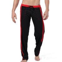 gevşek pijama toptan satış-Erkekler Pantolon Spor Salonu Pantolon Ev Giyim Egzersiz Gym Vücut Koşu Koşu pijama Erkek Lounge spor giyim Koşu Loose