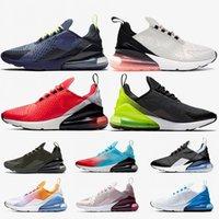 ingrosso nuova marca rossa è aumentata-Nike 270 Air Max 270 airmax 270 Brand 27C Wolf Grey TN Cushion Sneaker da uomo Scarpe da corsa da donna Triple S Bianco Nero Rosa Blu Indaco Habanero Red Designer Shoes 36-45