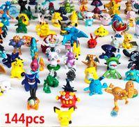 ingrosso figure di 3cm-44 PZ Monster Pikachu Giocattoli PVC Cartoon Cosplay Film Action Figure Decorazione Giocattoli per bambole Bambini Regali per bambini 3CM