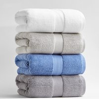 toalla de baño a casa al por mayor-80 * 160 cm 800g Láminas de baño de algodón engrosadas de lujo para adultos Baño de toalla Extra Grande Sauna para el hogar Sábanas Toallas