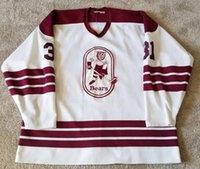 ingrosso jersey kemp-Rare Vintage 1985 -1987 Hershey Bears John Kemp Hockey Jersey Ricamo cucito Personalizza qualsiasi numero e nome Maglie