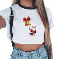 chinesischen goldladen großhandel-Weihnachten ältere sommer frauen t-shirt neuheiten drucken lustige grafische t-shirt bts crop top casual online chinesischen speicher tees