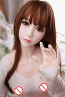 schöne silikon sex puppe spielzeug großhandel-165 cm 3D Lebensechte große brust Japanische echte silikongeschlechtspuppe erwachsene sexy spielzeug für männer schöne Japan Asiatische mündliche kopf TPE