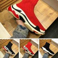 neue stil schuhe männer stiefel großhandel-Die Schuhe der neuen bequemen Männer dehnen Stiefel der Sockenfrauen arbeiten wilde flache Schuhgröße 35-45 der Freizeitschuhe der klassischen heißen Art um