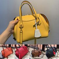 tb taschen großhandel-Hochwertige Handtasche Europäische Luxus-Handtaschen Marke Modedesigner Handtaschen Geldbörsen tb Totes Erste Schicht Rind Dame Beutel der Frauen