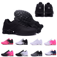 Wholesale black pu men s boots for sale - Group buy Cheaper New Shox Deliver Running Shoes For Men Women Brand DELIVER OZ NZ Brand Mens Trainers triple s Sports Designer Sneakers