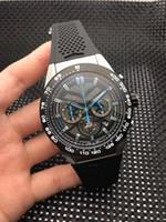 relógios japonês venda por atacado-Relógios de moda por atacado, movimento de quartzo japonês VK, 361L de aço inoxidável, relógios de quartzo masculino, impermeável, 46MM, entrega gratuita