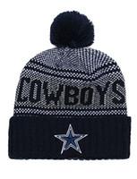hip hop kovboy şapkaları toptan satış-Toptan En Kaliteli Cowboys Beyzbol Beanies Erkek Kadın Spor Dallas Manşetli Örgü Şapkalar Ucuz Moda Hip Hop Kış Sıcak Beanie Kafatası Caps