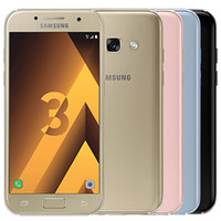 Wholesale android phone 4.7 for sale - Group buy Refurbished Original Samsung Galaxy A3 A320F inch Octa Core GB RAM GB ROM G Android Cell Phone DHL