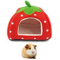 domuz tavşan oyuncak toptan satış-7 ADET Küçük Pet Uyku Evi Hamster tavşan Ev Yatağı Yumuşak Gine Domuz Yuva Yatak Mini Hayvanlar Kirpi sıçanlar Sıcak Ev yatak AIJILE
