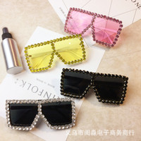 Wholesale multi colour sunglasses for sale - Group buy 20190908 Metal glasses large box colour lenses sunglasses and sunglasses