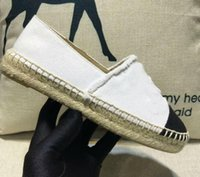 Wholesale brown dress shoes resale online - Fashion Handwork Womens Espadrilles Fisherman Sheep Canvas Leather Shoe Casual Womens Sneakers Ladies Flat Slip On Dress Shoes