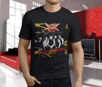 Wholesale cock cotton for sale – custom New Popular Cock Sparrer Shock Troops Punk Rock Band Men s Black T Shirt S XL